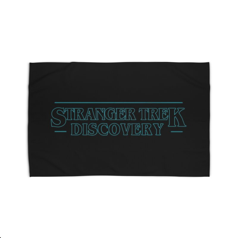 Stranger Trek Discovery Home Rug by To Boldly Merch