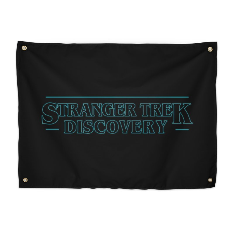 Stranger Trek Discovery Home Tapestry by To Boldly Merch