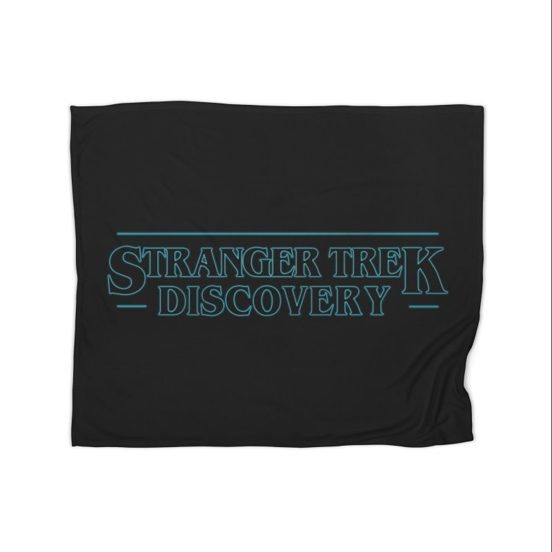 Stranger Trek Discovery Home Blanket by To Boldly Merch