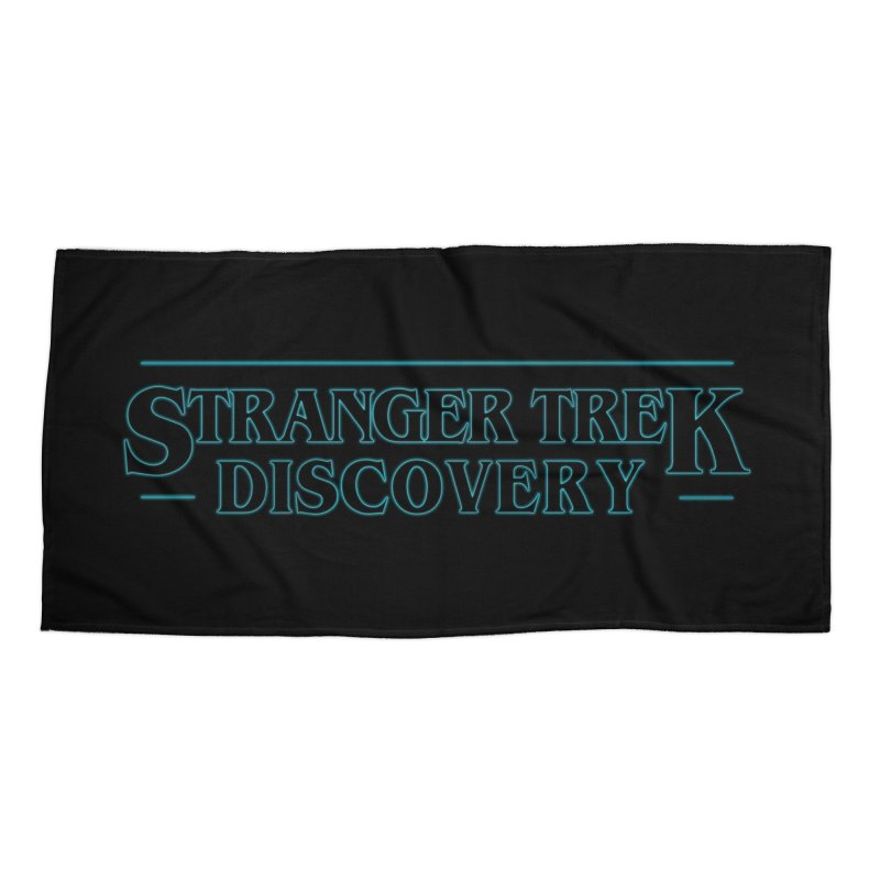 Stranger Trek Discovery Accessories Beach Towel by To Boldly Merch