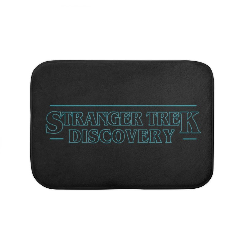Stranger Trek Discovery Home Bath Mat by To Boldly Merch