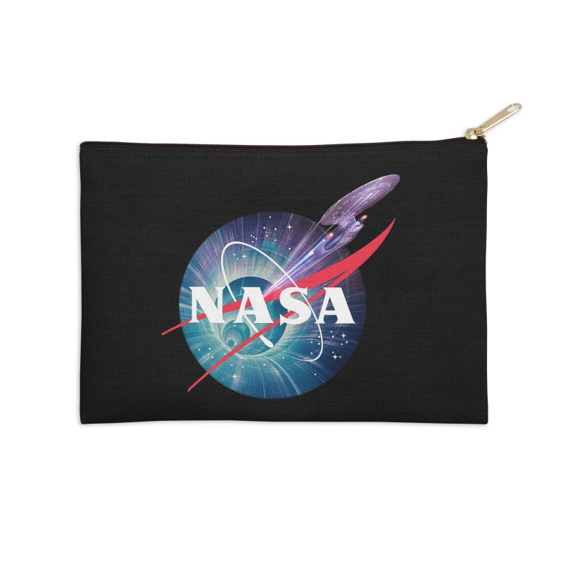 NASA Trek: The Next Generation Accessories Zip Pouch by To Boldly Merch