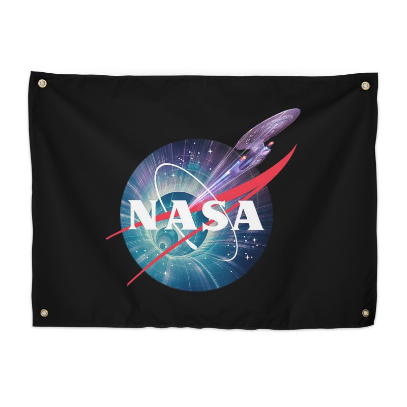 NASA Trek: The Next Generation Home Tapestry by To Boldly Merch