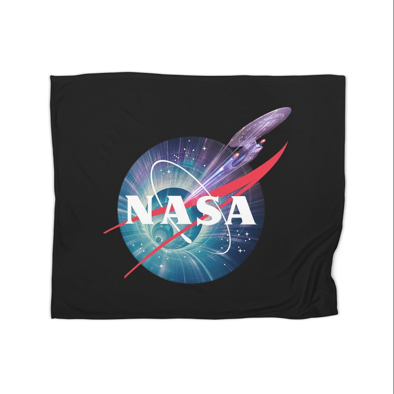 NASA Trek: The Next Generation Home Blanket by To Boldly Merch