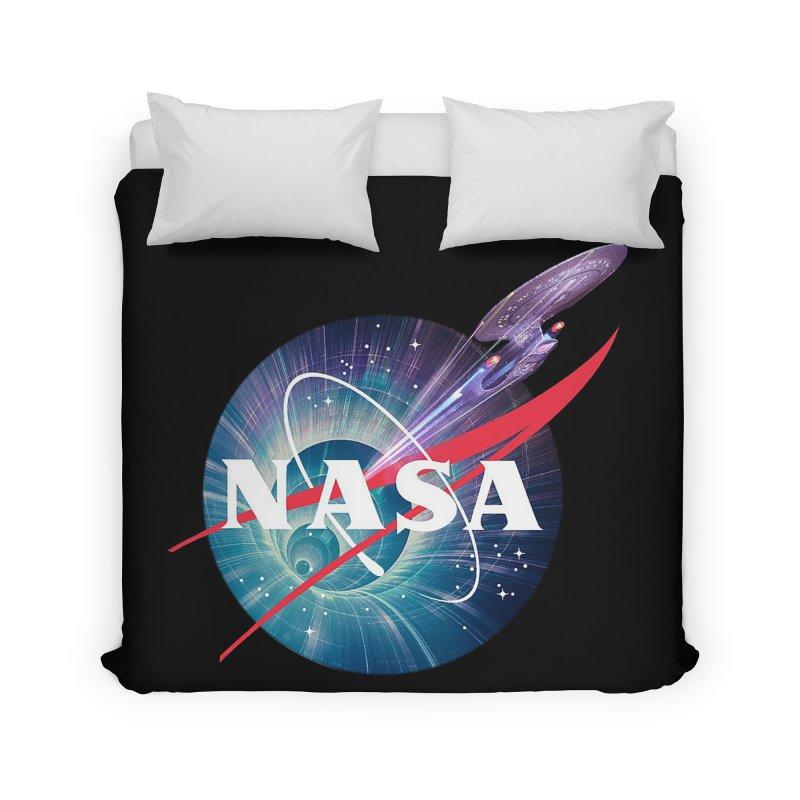 NASA Trek: The Next Generation Home Duvet by To Boldly Merch