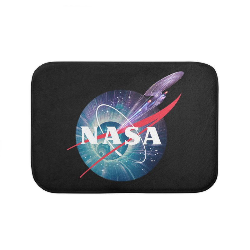 NASA Trek: The Next Generation Home Bath Mat by To Boldly Merch