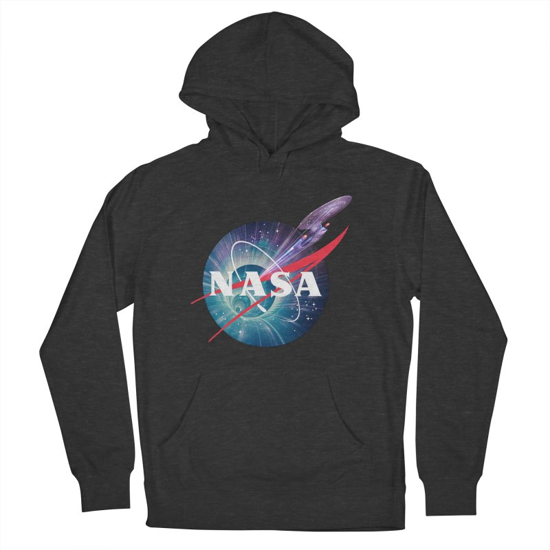 NASA Trek: The Next Generation Women's Pullover Hoody by To Boldly Merch