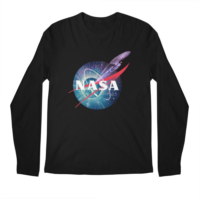 NASA Trek: The Next Generation Men's Longsleeve T-Shirt by To Boldly Merch