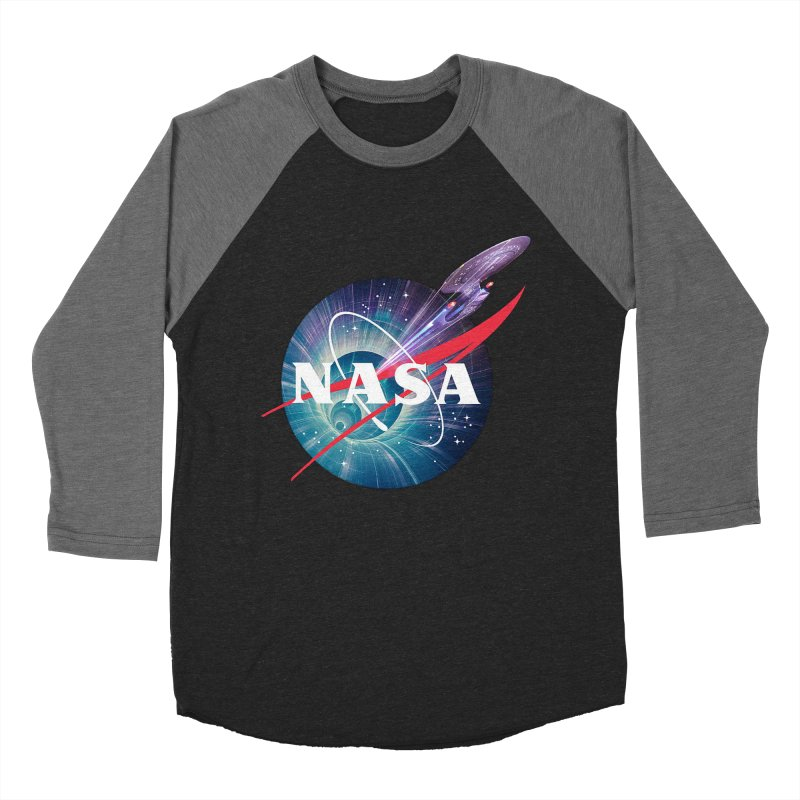 NASA Trek: The Next Generation Women's Baseball Triblend T-Shirt by To Boldly Merch
