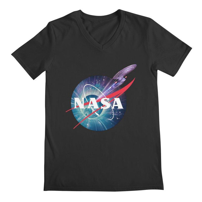 NASA Trek: The Next Generation Men's V-Neck by To Boldly Merch