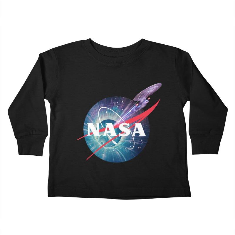 NASA Trek: The Next Generation Kids Toddler Longsleeve T-Shirt by To Boldly Merch