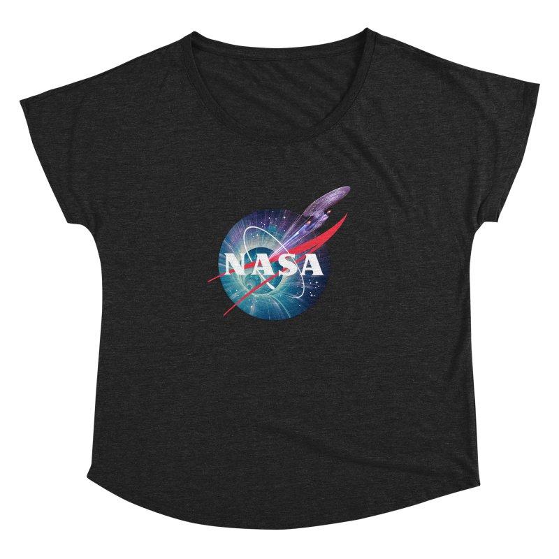NASA Trek: The Next Generation Women's Dolman by To Boldly Merch