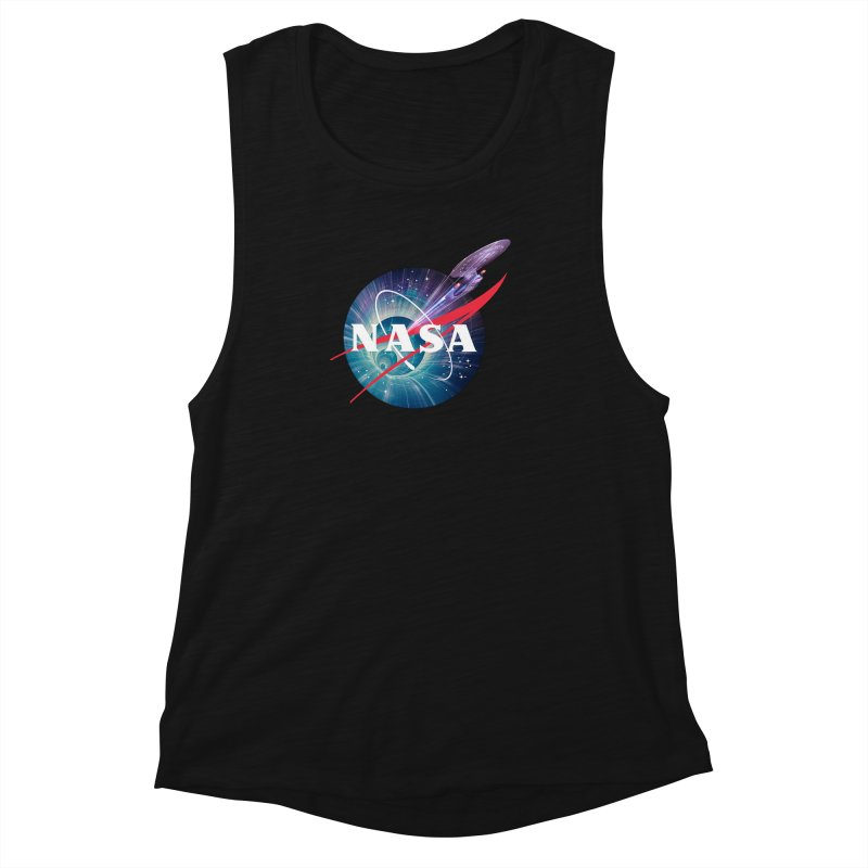NASA Trek: The Next Generation Women's Muscle Tank by To Boldly Merch