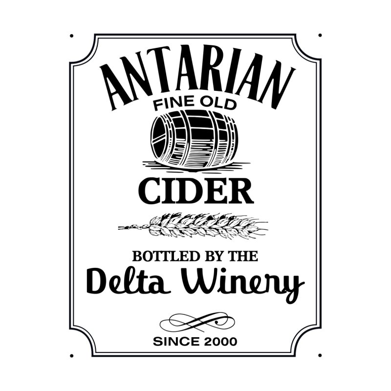 Fine Old Antarian Cider by To Boldly Merch
