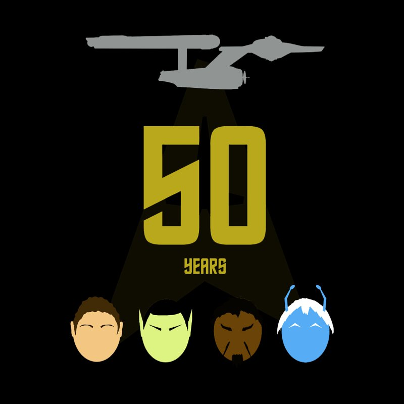 50 Years of Star Trek Aliens by To Boldly Merch