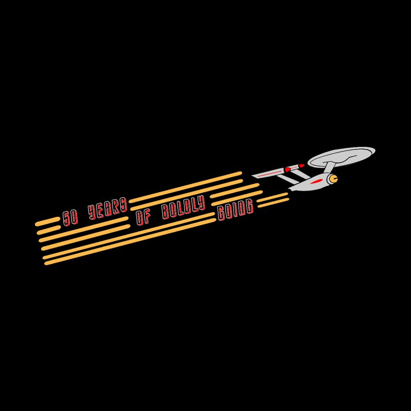 50 Years of Boldly Going by To Boldly Merch