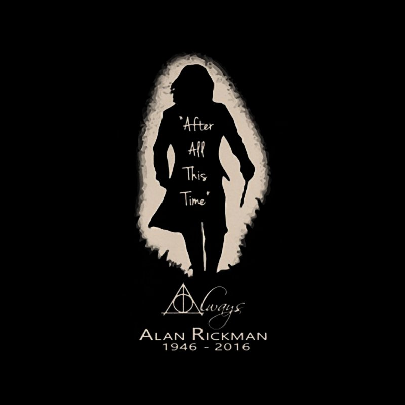 Alan Rickman as Professor Snape Tribute by To Boldly Merch