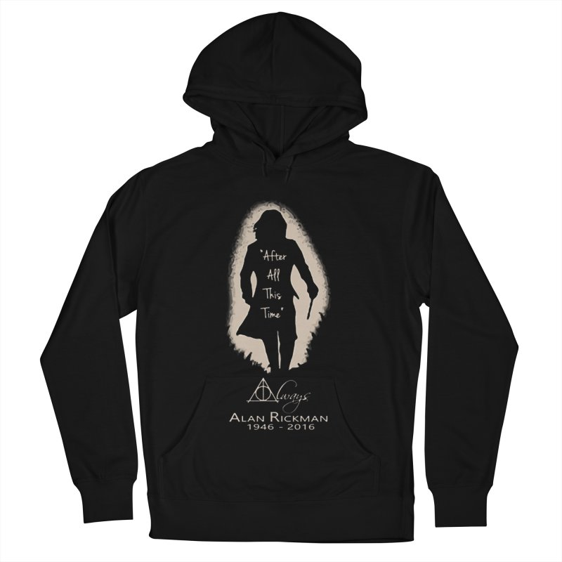 Alan Rickman as Professor Snape Tribute Women's French Terry Pullover Hoody by To Boldly Merch