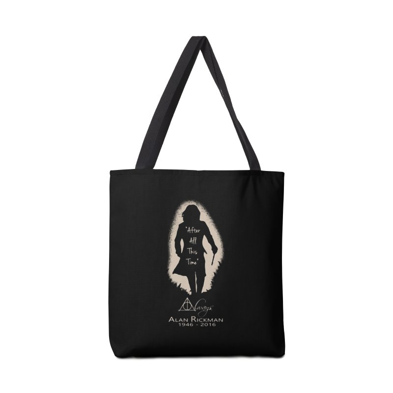 Alan Rickman as Professor Snape Tribute Accessories Bag by To Boldly Merch