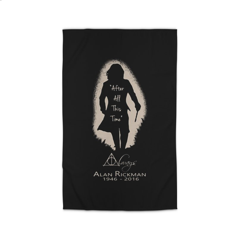 Alan Rickman as Professor Snape Tribute Home Rug by To Boldly Merch