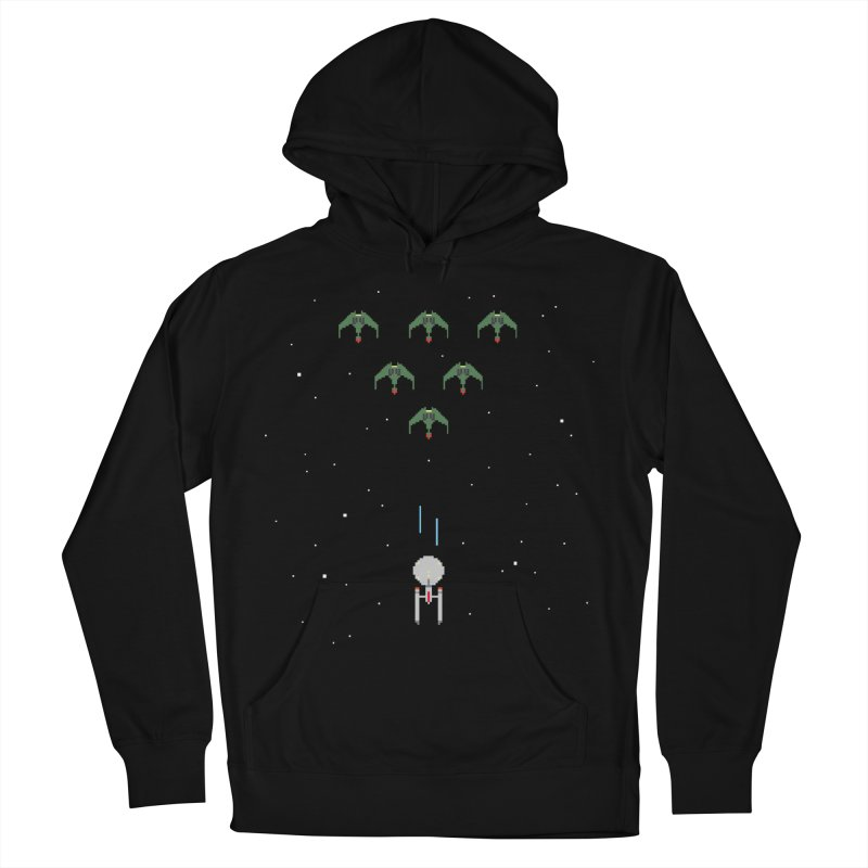 Arcade Trek Women's French Terry Pullover Hoody by To Boldly Merch