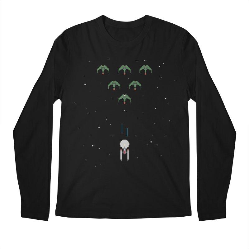 Arcade Trek Men's Longsleeve T-Shirt by To Boldly Merch