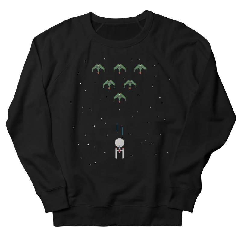 Arcade Trek Women's French Terry Sweatshirt by To Boldly Merch