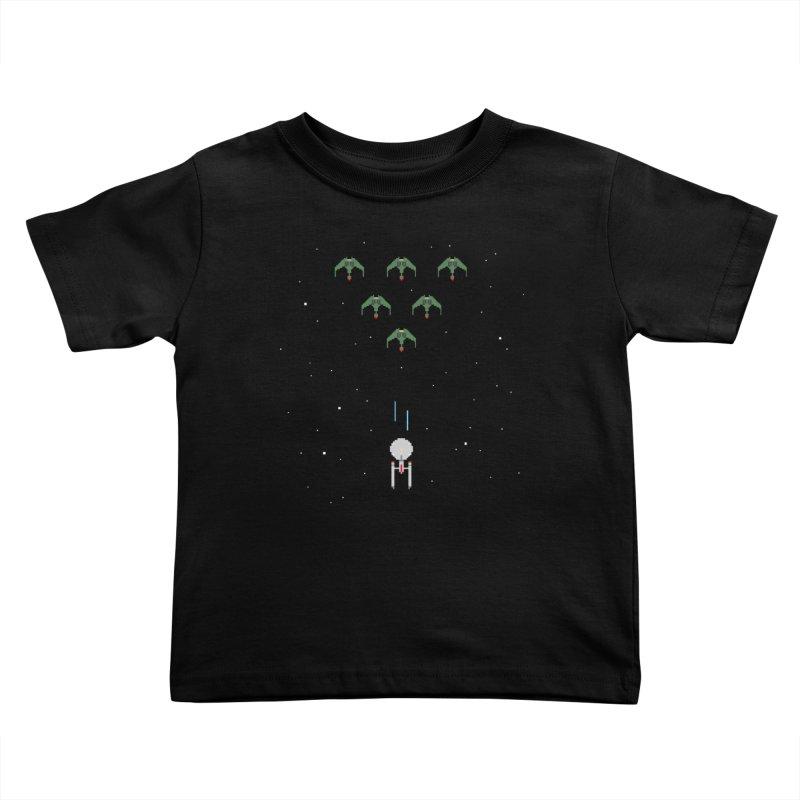Arcade Trek Kids Toddler T-Shirt by To Boldly Merch
