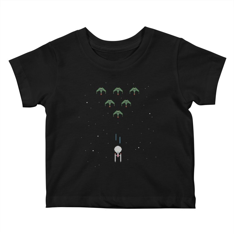Arcade Trek Kids Baby T-Shirt by To Boldly Merch