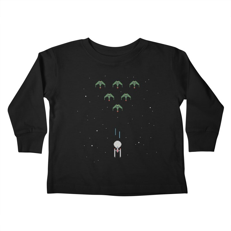 Arcade Trek Kids Toddler Longsleeve T-Shirt by To Boldly Merch