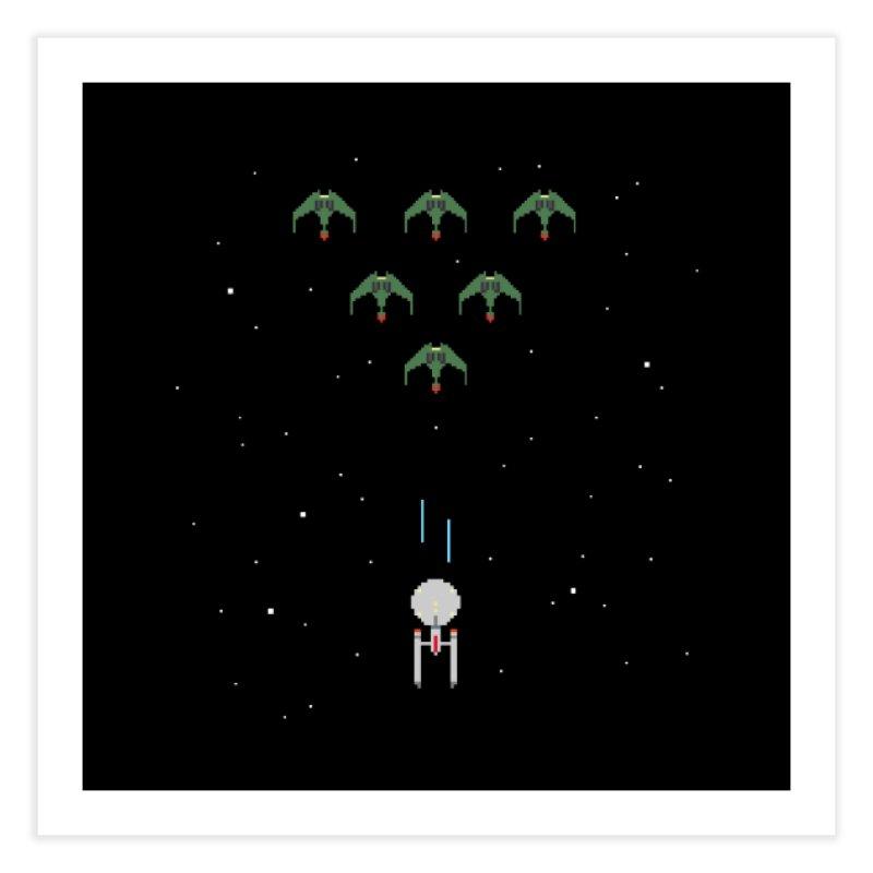Arcade Trek Home Fine Art Print by To Boldly Merch