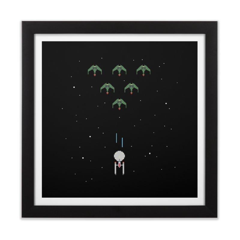 Arcade Trek Home Framed Fine Art Print by To Boldly Merch