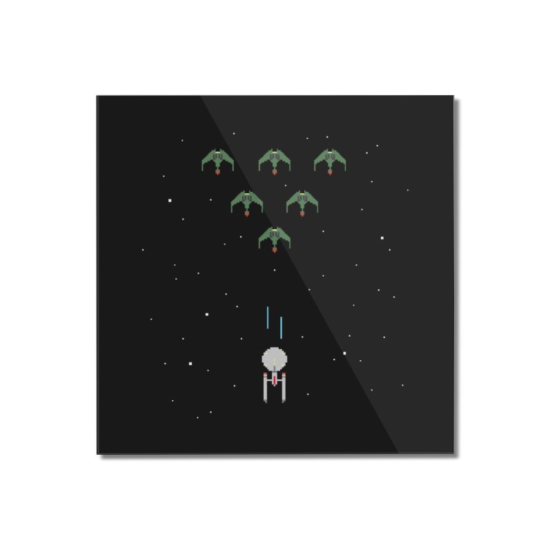 Arcade Trek Home Mounted Acrylic Print by To Boldly Merch