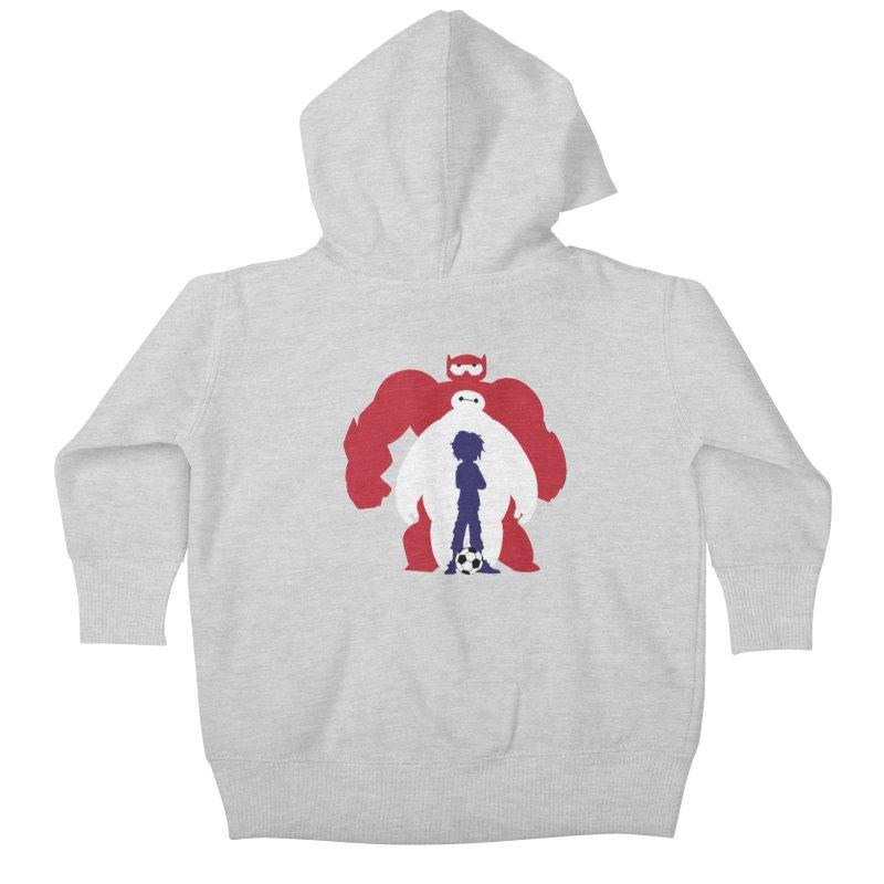 Big Hero Kids Baby Zip-Up Hoody by To Boldly Merch