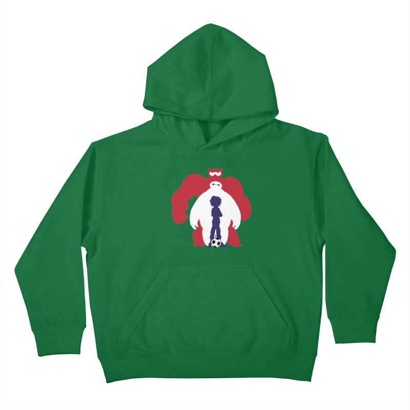 Big Hero Kids Pullover Hoody by To Boldly Merch