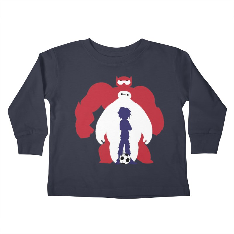 Big Hero Kids Toddler Longsleeve T-Shirt by To Boldly Merch