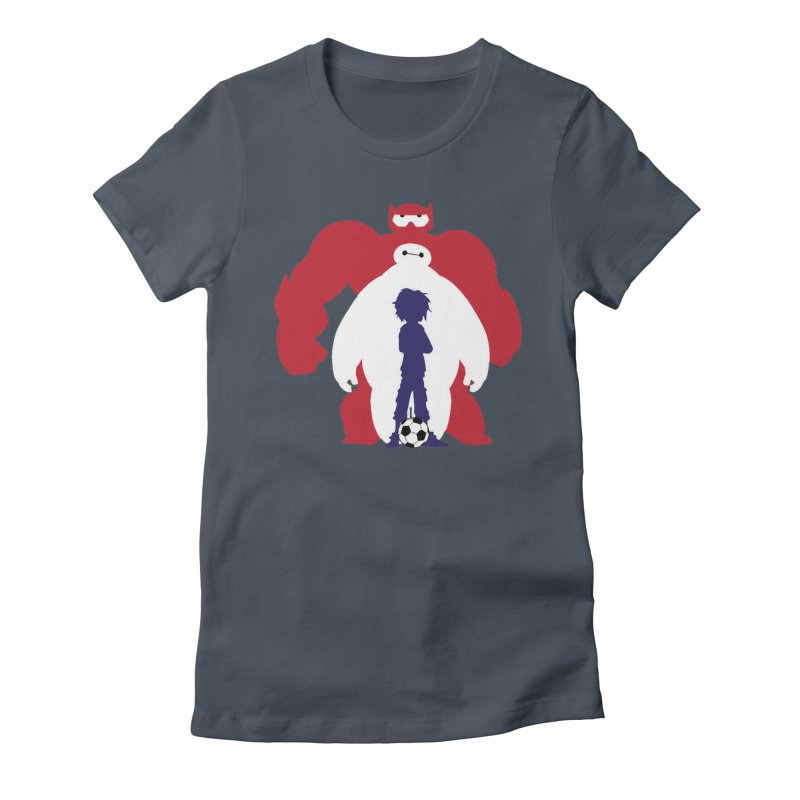 Big Hero Women's Fitted T-Shirt by To Boldly Merch