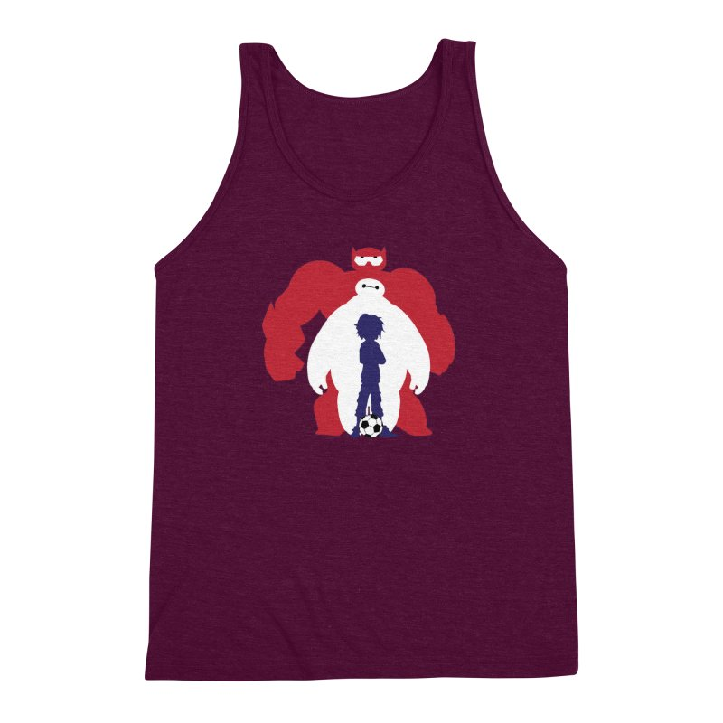 Big Hero Men's Triblend Tank by To Boldly Merch