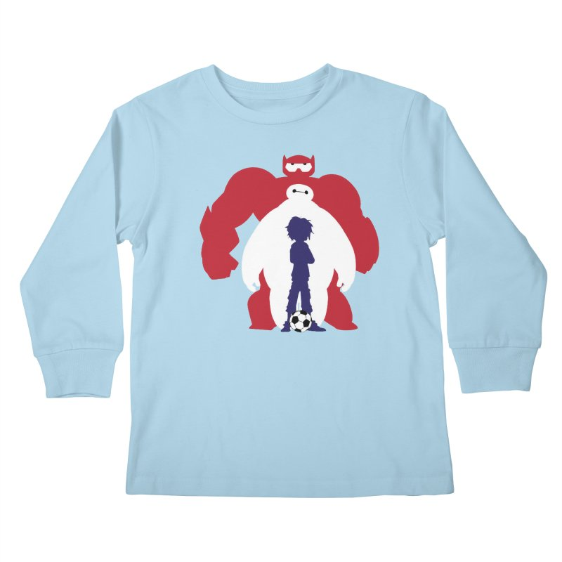 Big Hero Kids Longsleeve T-Shirt by To Boldly Merch