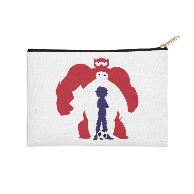 Big Hero Accessories Zip Pouch by To Boldly Merch