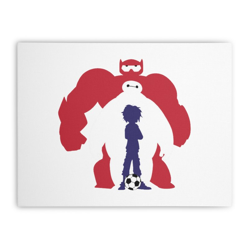 Big Hero Home Stretched Canvas by To Boldly Merch