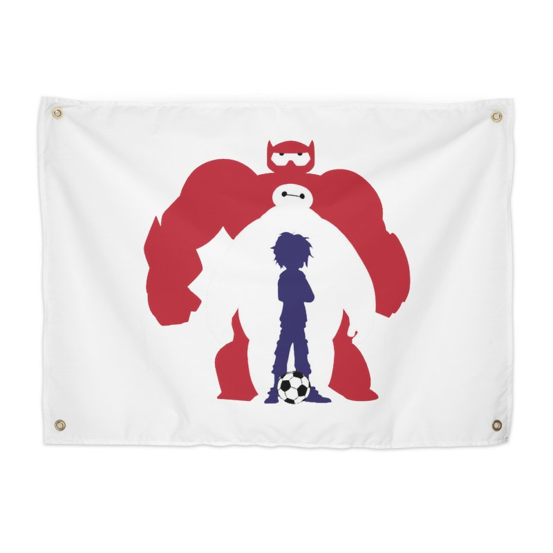 Big Hero Home Tapestry by To Boldly Merch