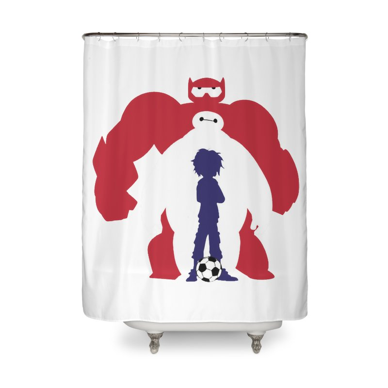 Big Hero Home Shower Curtain by To Boldly Merch