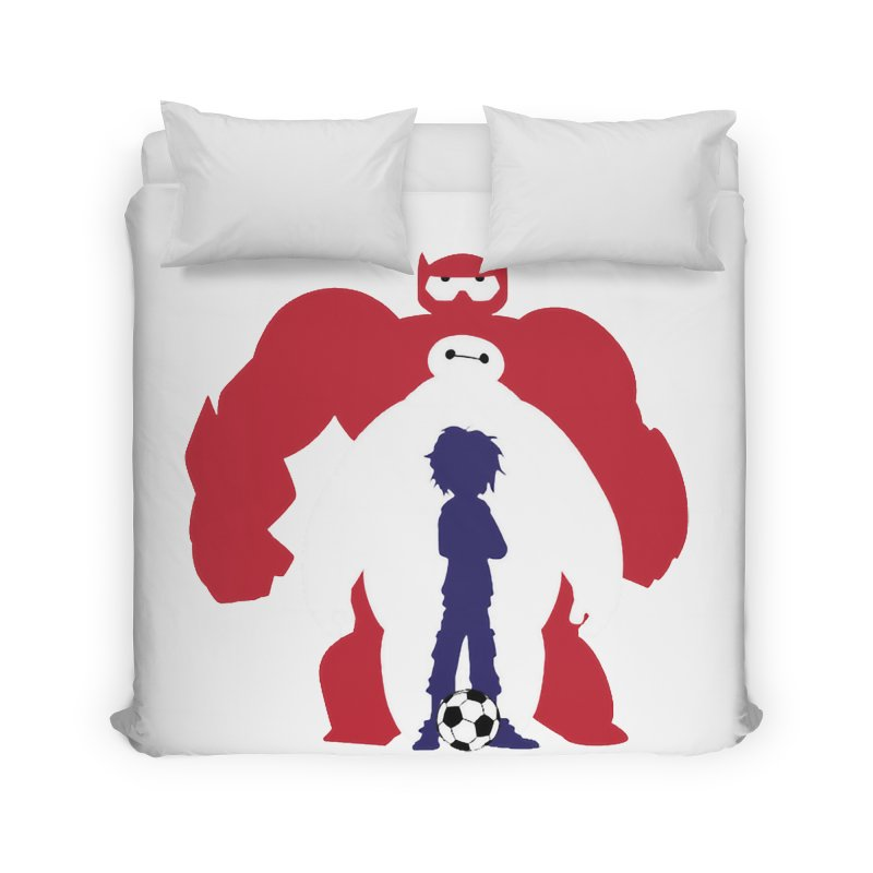 Big Hero Home Duvet by To Boldly Merch