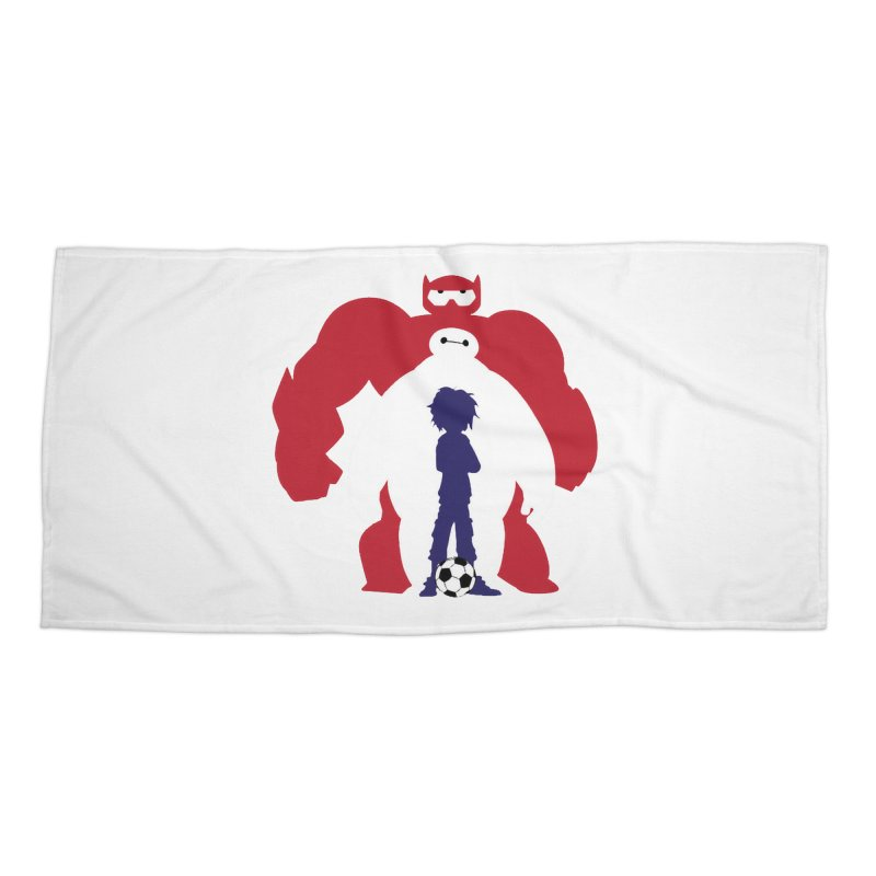 Big Hero Accessories Beach Towel by To Boldly Merch