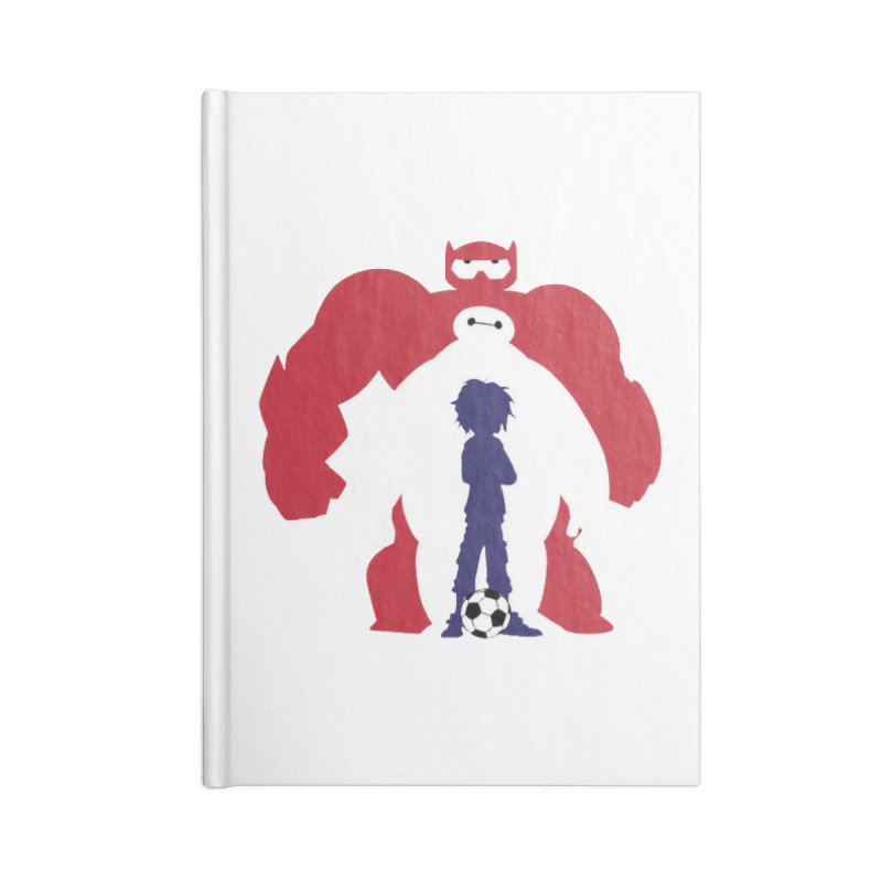 Big Hero Accessories Notebook by To Boldly Merch