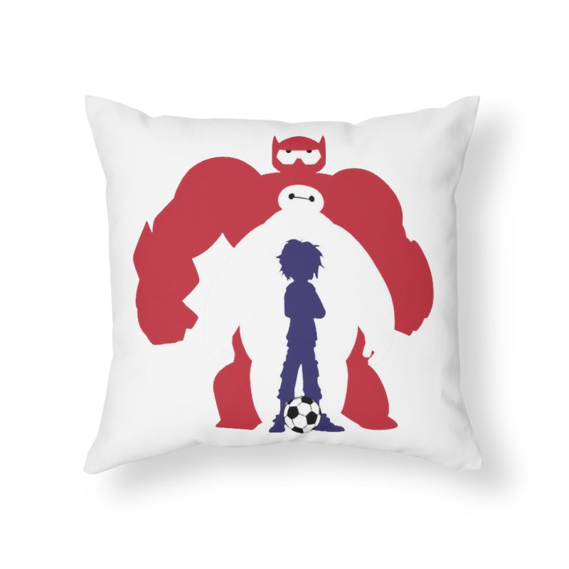 Big Hero Home Throw Pillow by To Boldly Merch