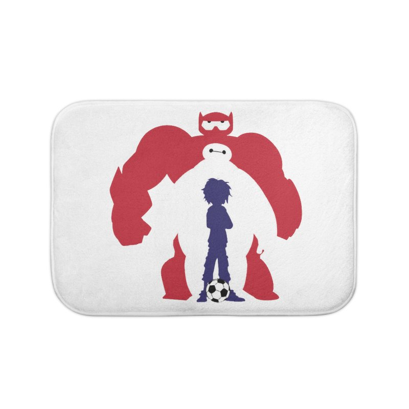 Big Hero Home Bath Mat by To Boldly Merch