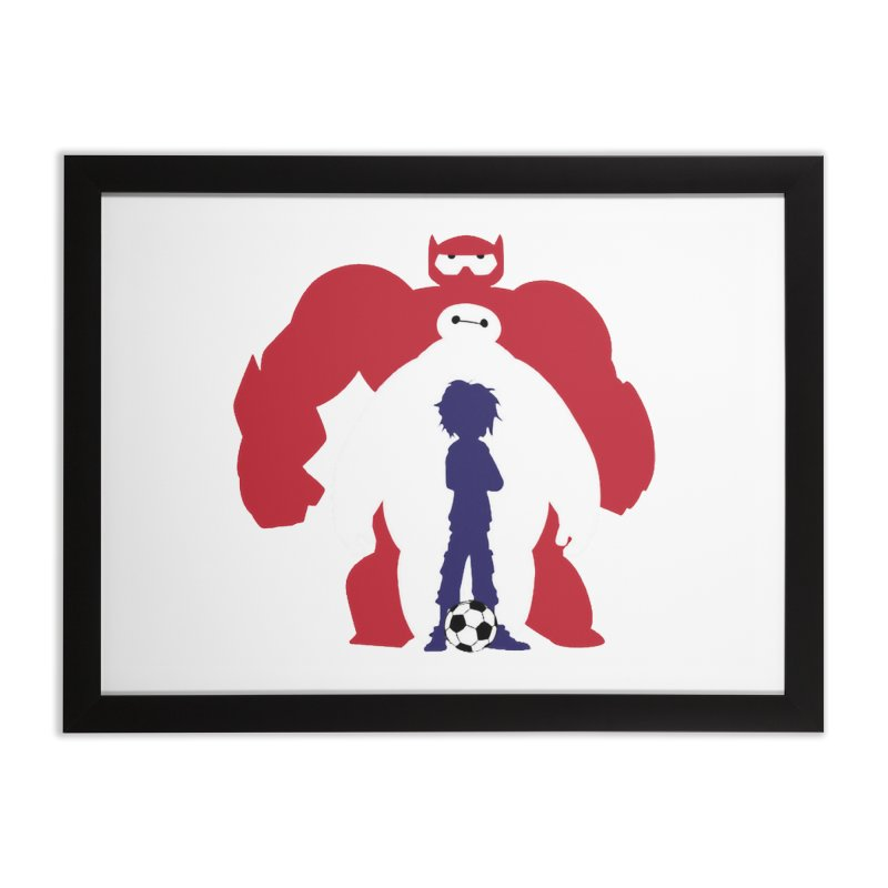 Big Hero Home Framed Fine Art Print by To Boldly Merch