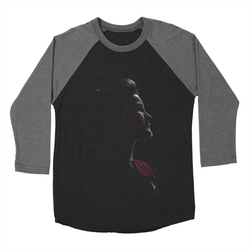 Captain Kathryn Janeway Men's Baseball Triblend Longsleeve T-Shirt by To Boldly Merch